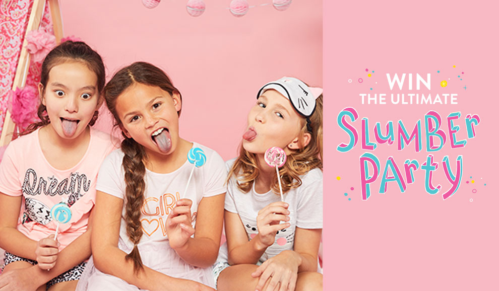 Win the ultimate slumber party