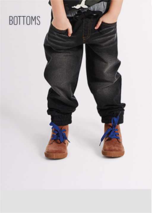Denim Look Trackpants, sizes 0-6