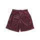 MAROON BOYS MESH REVERSIBLE SHORTS