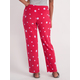 Womens Coral Fleece Sleep Pant