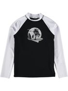 Youth Boys Long Sleeve Rash Vest