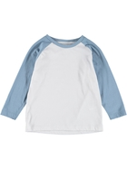 Toddler Boys Long Sleeve Baseball Top