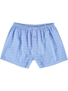 Mens Woven Cotton Boxer Shorts