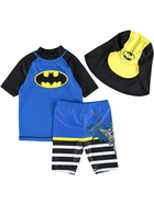 Boys Batman 3-Piece Swim Set