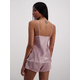 Womens Satin Cami And Short Pj