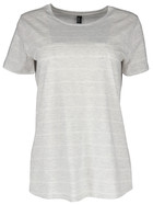 Plus Stripe Tee Womens