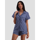 Womens Woven Viscose Pyjama Set
