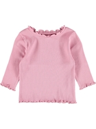 Toddler Girls Long Sleeve Rib Top