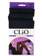 40 DENIER TIGHT 3PK CLIO WOMENS