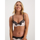 Womens Satin Lace Chloe Bra