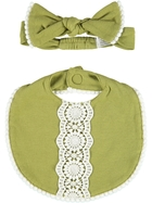 Baby Bib & Headband Set