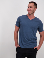 Mens Short Sleeve Organic V Neck T Shirt