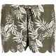 Womens Honeycomb Textured Scalloped Boardshort