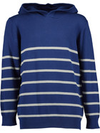 Boys Hooded Stripe Pullover
