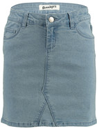 Girls Basic Denim Skirt