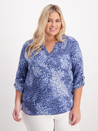 Womens Plus Henley Shirt