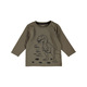 Toddlers Long Sleeve Print Tee