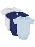 Baby 3 Pack Short Sleeve Bodysuits