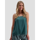 Womens Lace Trim Cami