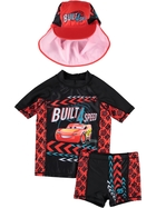 Boys Disney Pixar Cars 3-Piece Swim Set
