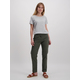 Womens Ankle Grazer Casual Pant