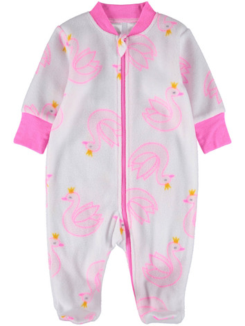 e7b47a5c3 baby microfleece print romper. $8.00. New Arrival