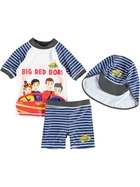 Boys The Wiggles 3-Piece Swim Set