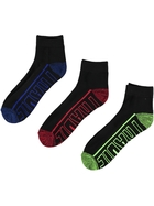 Mens Tradie 3 Pack Quarter Socks