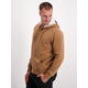 Mens Hoodie With Sherpa Lined Hood