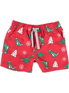 Boys Xmas Microfibre Volley Shorts