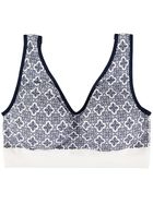 Printed Seam Free Crop