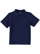 BOTTLE GREEN KIDS TEFLON PROTECTED COTTON POLO