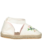 Baby Girl Hard Sole Embroidery Sandal
