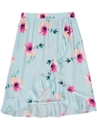 Toddler Girls Floral Woven Skirt