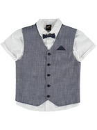 BOYS 3 PIECE VEST SET