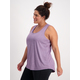 Womens Plus Elite Racerback Tank