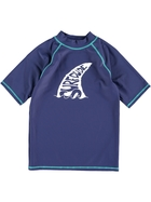 Boys Short Sleeve Rash Vest