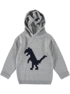 Boys Knitted Pullover With Hood