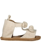 Baby Girl Hard Sole Bow Sandal
