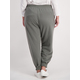 Womens Plus Jogger Trackpant