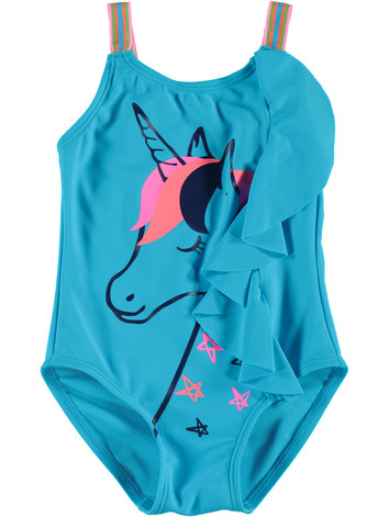 8e19432e2f toddler girls 1 piece unicorn swimsuit