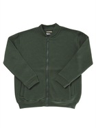 BOTTLE GREEN KIDS FULL ZIP FLEECE JACKET
