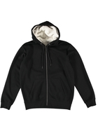 Mens Vintage Fleece Jacket-Sherpa Lined Hood