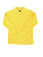 GOLD KIDS BASIC LONG SLEEVE POLO