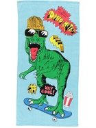 Kids Dinosaur Velour Beach Towel
