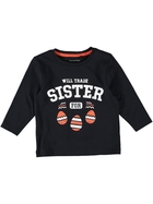Toddler Boys Long Sleeve Print Top
