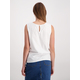 Womens Knot Front Broderie Top