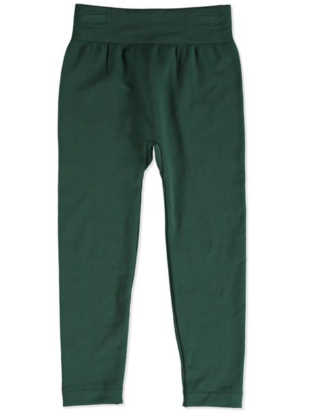 f35d66f131b5f1 DARK GREEN GIRLS FLEECE LEGGINGS | Best&Less™ Online