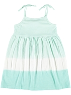Toddler Girls Tie Dye Knit Dress