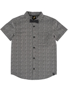 Youth Boys Woven Shirt With Tie